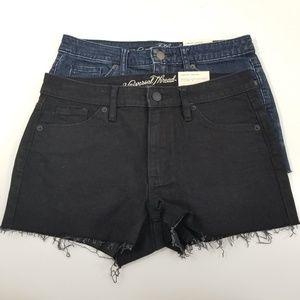 Universal Thread   high rise shortie shorts lot